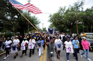 Trayvon Martin march: Rally for Trayvon Martin