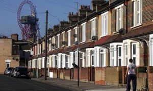 Terraced houses in Newham 23/2/12