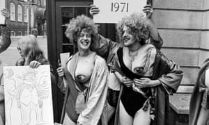 Gay Liberation protest Feb 1971