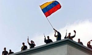 VENEZUELA-COUP-SOLDIERS