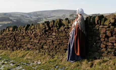 Christine Mackie (Alice Nutter) at Pendle Hill