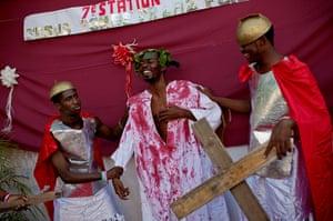 Haiti - A longer view: Holy Week celebrations on Good Friday in Haiti