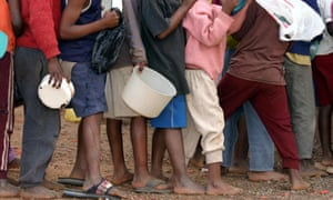 Aids orphans, Manzini, Swaziland 26/8/05
