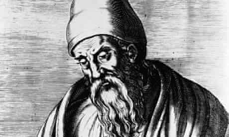 Portrait Of Greek Geometer Euclid