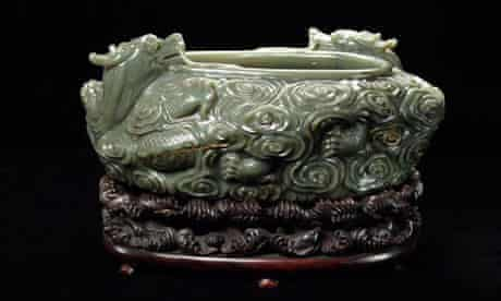 The 18th-century jade bowl stolen from the Oriental Museum at Durham University