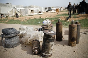 Aleppo, Syria: Improvised Explosive Devices of Syrian rebels
