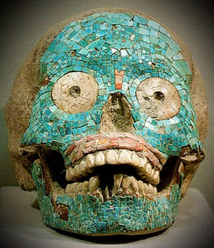 Hirst Mexican Death:  Zapotec skull