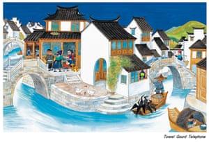 Chinese illustrators: Zhou JianMing illustration