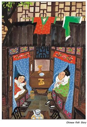 Chinese illustrators: Wang Zumin illustration