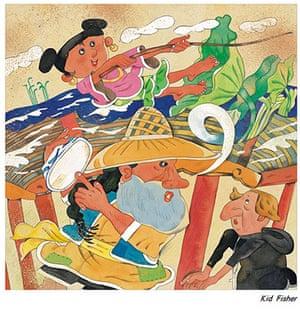 Chinese illustrators: Jiang Jianwen illustration