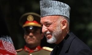 Hamid Karzai, Kabul, 12/4/12