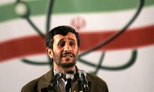 Iranian president Mahmoud Ahmadinejad in 2007