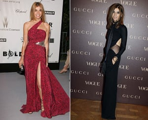 Carine Roitfeld: Gucci Dinner At Italian Embassy - Photocall - PFW Haute Couture S/S 2011