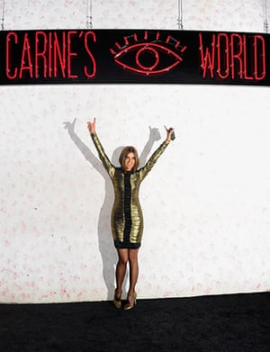 Carine Roitfeld: 2011: Carine Roitfeld arrives at Barneys New York