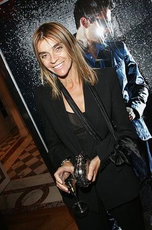 Carine Roitfeld: 2007: Carine Roitfeld attends the Rock & Republic party