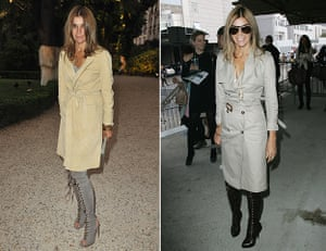 Carine Roitfeld: 2010: Chloe new Fragance Launch and the Valentino Pret a Porter show