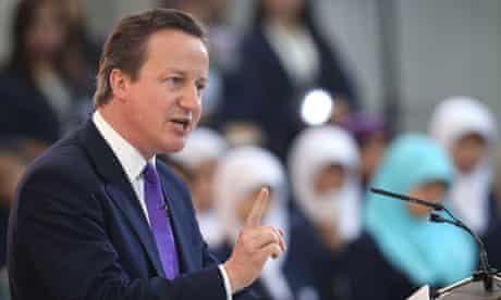 Prime Minister David Cameron Visits Indonesia