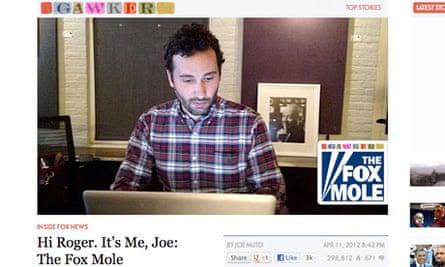 Gawker's Fox mole Joe Muto