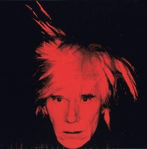 Hirst 2: Warhol Self-Portrait
