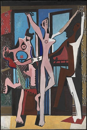 Hirst 2: Pablo Picasso The Three Dancers