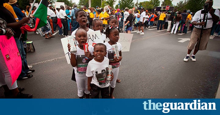 Trayvon Martin Protests In Pictures Us News The Guardian