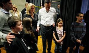 ann romney tagt family