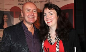 Irvine Welsh and his wife Beth Quinn