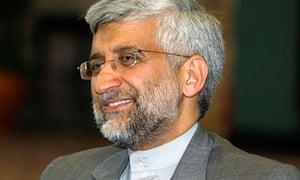 Iran's chief nuclear negotiator Saeed Jalili