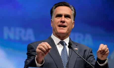 Mitt Romney at NRA