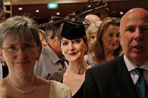 Titanic anniversary: At the reception