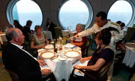 Titanic Memorial Cruise in the mid-Atlantic Ocean