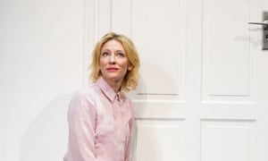 Cate Blanchett in Big and Small at the Barbican