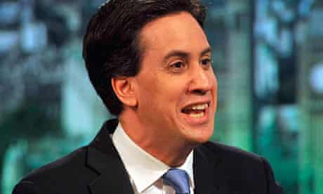 Ed Miliband on BBC1's Andrew Marr Show