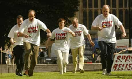 Sport Relief fundraising