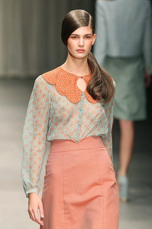Jaeger: The Jaeger London Spring/Summer 2012 show at London Fashion Week