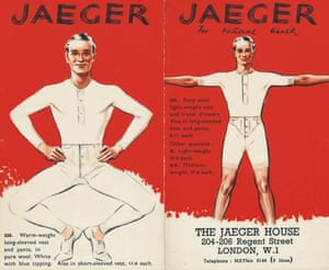 Jaeger Gallery: 'Jaeger for National Health'. 1940s poster campaign