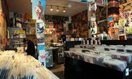 Rough Trade record shop, Talbot Road, London