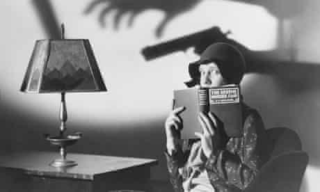 Actress Jean Arthur Reading