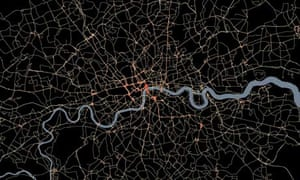 Map Bus London.Meticulous Map Shows Every London Bus Journey News The Guardian