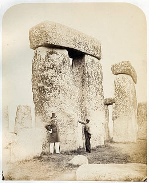 The Royal Society: Study of two triliths (posts and lintel) at Stonehenge