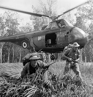 Colonial papers: British troops of the (SAS) in Malaya