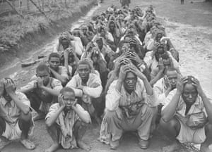 Colonial papers: Extensive prison camp for British-captured Mau Mau
