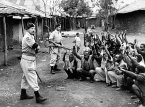 Colonial papers: War and Conflict, Mau May Uprising