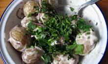 Sarah Raven recipe potato salad