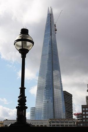 Shard: the Shard building in London