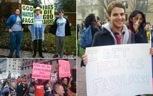 Big Picture: Big Picture: Placards with pro gay slogans