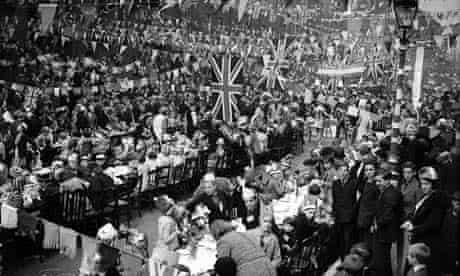 A coronation street party