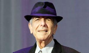Leonard Cohen in Weybridge