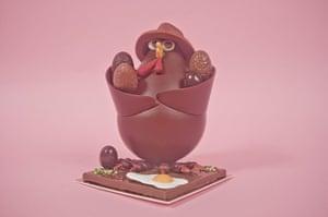 Chocolate Easter animals: Chocolate Easter animals