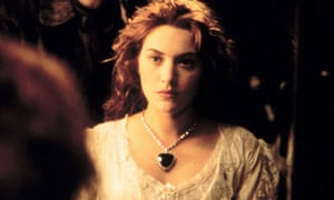Kate Winslet in a still from the film Titanic